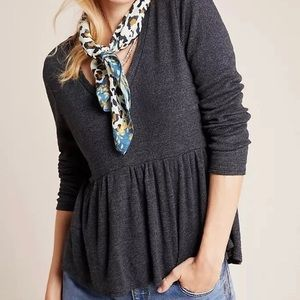 NWT Jill Babydoll Top from Anthropologie M